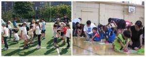 「共育」スポーツ講座で学ぶ子どもたち01